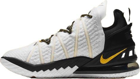 """CQ9283-100 Nike LeBron 18 """"Home"""""""