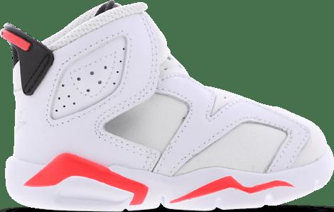 CT4417-101 Jordan 6 Retro -  - White - Mesh/Synthetisch - Maat 21 - Foot Locker