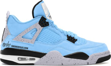 "CT8527-400 Air Jordan 4 Retro ""University Blue"""