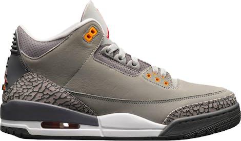 """CT8532-012 Air Jordan 3 """"Cool Grey"""""""