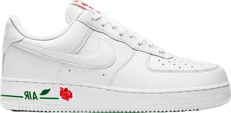 "CU6312-100 Nike Air Force 1 Low ""White Rose"""