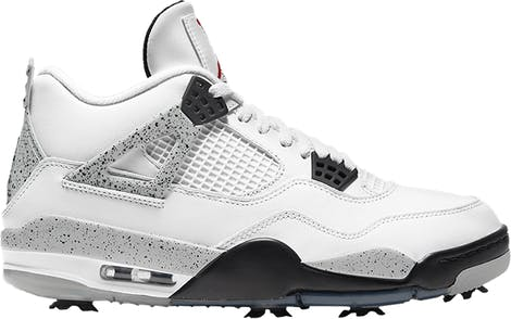 "CU9981-100 Air Jordan 4 Golf ""White Cement"""