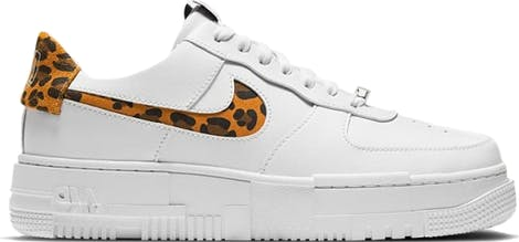 "CV8481-100 Nike WMNS Air Force 1 Low Pixel SE ""Leopard"""