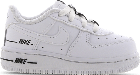 CW0986-100 Nike Air Force 1 Low Double Air White Black (TD)