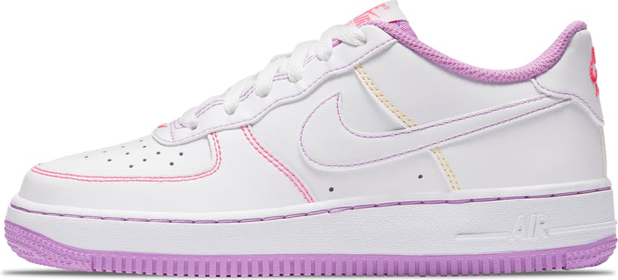 """CW1575-110 Nike AIR FORCE 1 (GS) """"White"""""""
