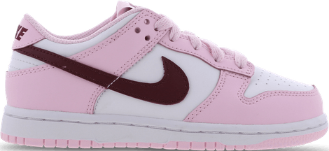 CW1588-601 Nike Dunk Low Pink Red White (PS)
