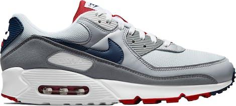 "CZ1846-001 Nike Air Max 90 ""Pure Platinum Navy"""