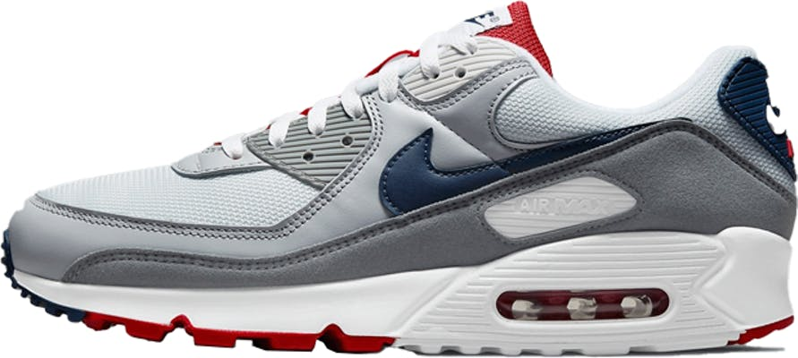 "CZ1846-001 Nike Air Max 90 ""Pure Platinum Navy"""
