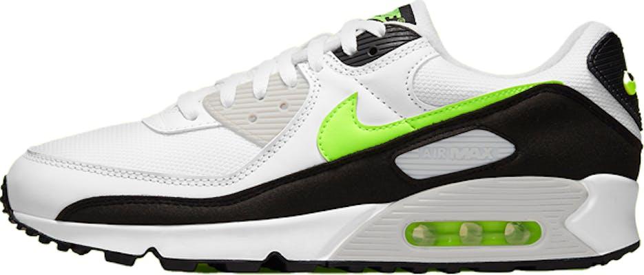 """CZ1846-100 Nike Air Max 90 """"Hot Lime"""" 2021"""