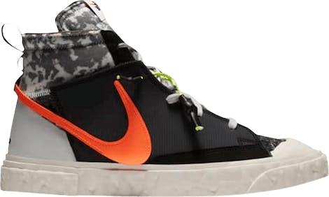 """CZ3589-001 READYMADE x Nike Blazer Mid """"Black"""""""