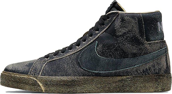 "DA1839-001 Nike SB Zoom Blazer Mid Premium SB ""Black"""
