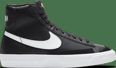 DA4086-002 Nike Blazer Mid 77 Black White (GS)