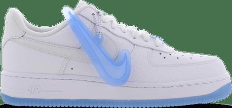 DA8301-101 Nike Air Force 1 Low UV Reactive Swoosh (W)