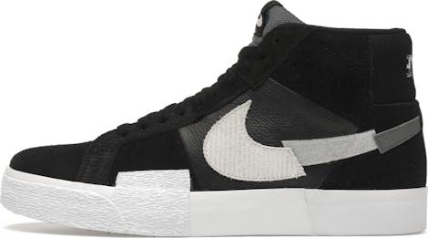DA8854-001 Nike Blazer Mid Mosaic Black Grey