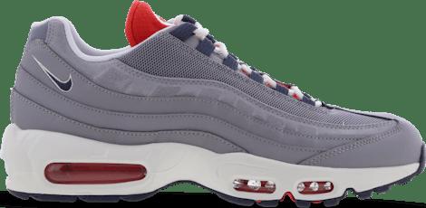 DB0250-001 Nike Air Max 95 Grey Navy Crimson