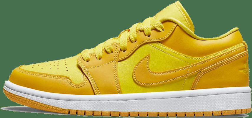 DC0774-700 Jordan 1 Low Yellow Strike (W)