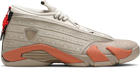 "DC9857-200 CLOT x Air Jordan 14 Retro Low ""Terracotta"""