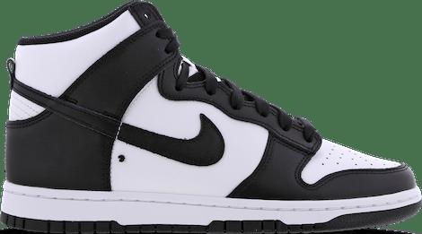 DD1399-105 Nike Dunk High Black White (2021)