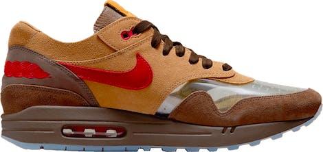 """DD1870-200 CLOT x Nike Air Max 1 """"Cha"""""""