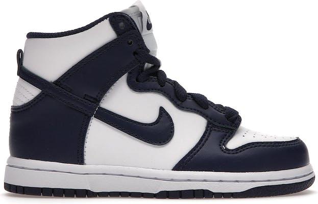 DD2314-104 Nike Dunk High -  - White - Leer - Maat 32 - Foot Locker