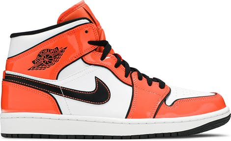 "DD6834-802 Air Jordan 1 Mid SE ""Turf Orange"""