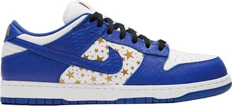 """DH3228-100 Supreme x Nike Dunk Low OG SB QS """"Hyper Blue"""""""
