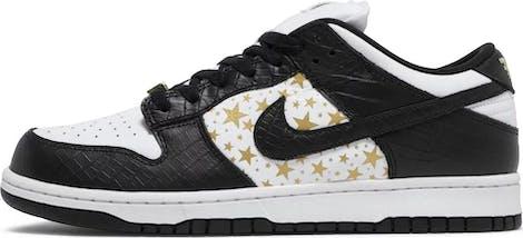 "DH3228-102 Supreme x Nike Dunk Low OG SB QS ""Black"""