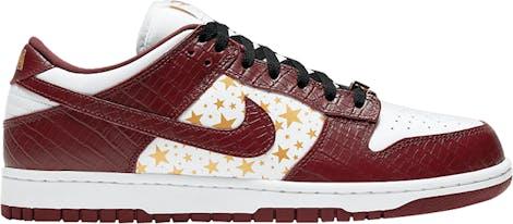 "DH3228-103 Supreme x Nike Dunk Low OG SB QS ""Barkroot Brown"""