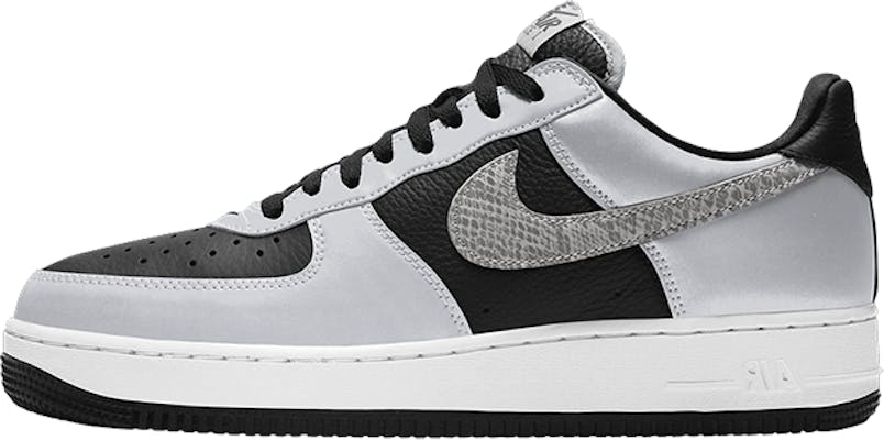 "DJ6033-001 Nike Air Force 1 Low B 3M ""Silver Snake"""