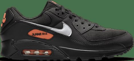 DJ6881-001 Nike Air Max 90 Black Orange