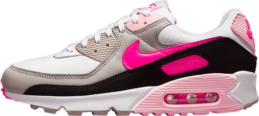 "DM3051-100 Nike Air Max 90 ""White Grey Pink"""