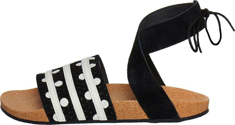 "EF5630 adidas Adilette Ankle Wrap ""Polka Dot Pack"""