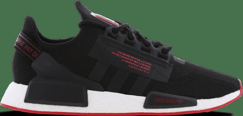 GV8251 adidas NMD R1 V2 -  - Black - Mesh/Synthetisch - Maat 40 - Foot Locker
