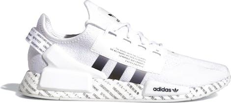 GX1116 adidas NMD R1 V2 Script White