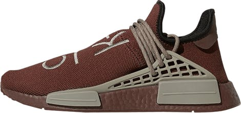 "GY0090 Pharrell Williams x Adidas NMD Human Race ""Chocolate"""