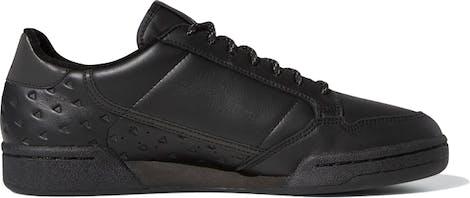 "GY4979 Pharrell Williams x Adidas Continental 80 ""Triple Black"""