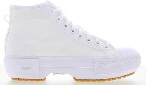 GZ8858 adidas Nizza Trek -  - White - Leer, Textil - Maat 36 - Foot Locker
