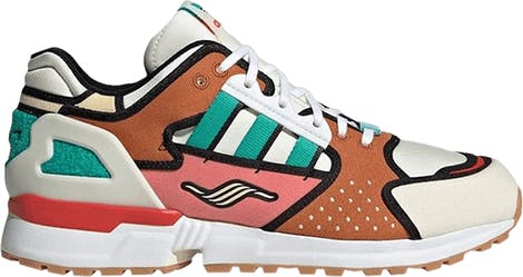 "H05783 The Simpsons x Adidas ZX 10000 ""Krusty Burger"""