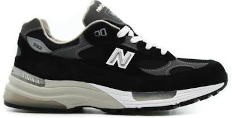 M992EB New Balance 992 Black Suede