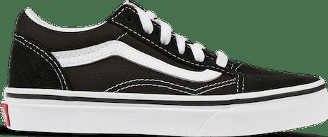 VN000W9T6BT Vans Old Skool Black White (PS)