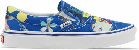 VN0A33TBYZ11 Vans Slip On Spongebob -  - Blue - Canvas - Maat 39 - Foot Locker